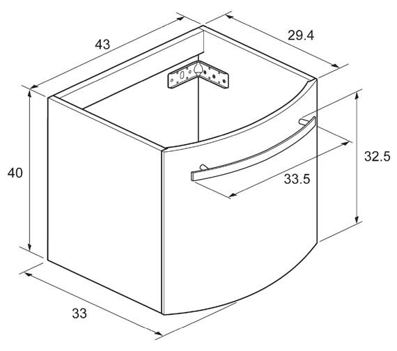 Technical drawing QS-V48047 / ST4400WN
