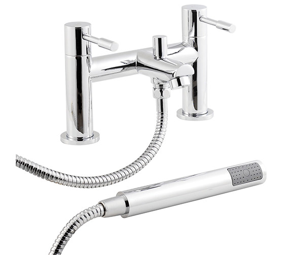 Lauren Series 2 Bath Shower Mixer Tap With Kit