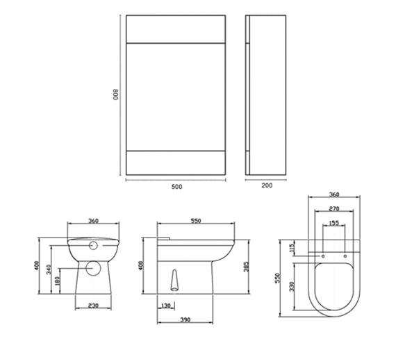 Technical drawing QS-V45077 / G51503, G51514, G51515