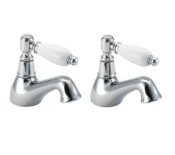 Deva Georgian Bath Taps Chrome