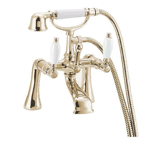 Deva Georgian Bath Shower Mixer Tap Gold