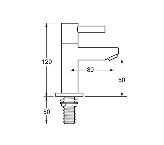 Technical drawing QS-V45159 / INS101/FR101-4