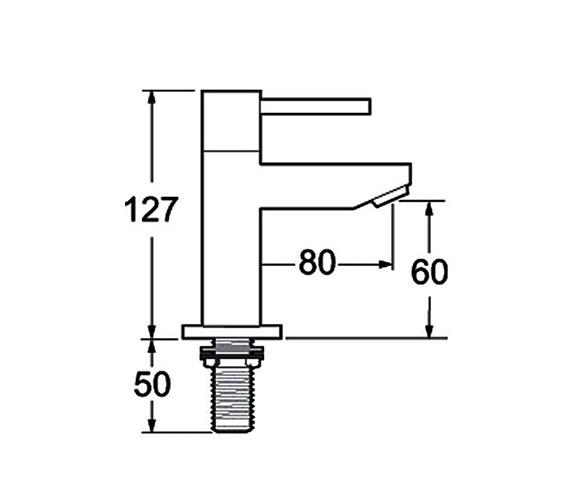 Technical drawing QS-V45160 / INS102