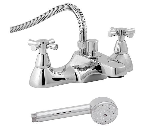 Deva Milan Deck Mounted Bath Shower Mixer Tap - MILAN106