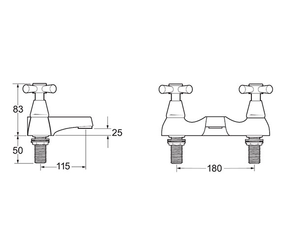 Technical drawing QS-V45175 / MILAN 108