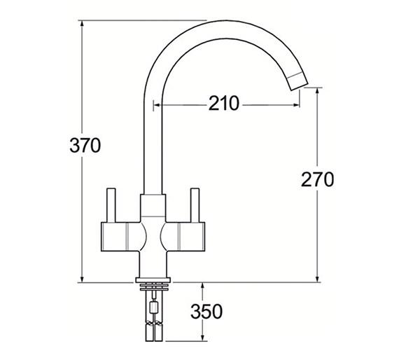 Technical drawing QS-V45207 / MET172