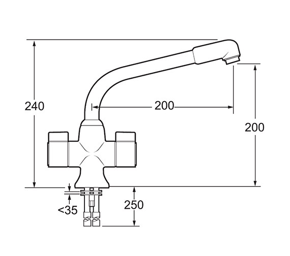 Technical drawing QS-V45220 / PUF130/CP