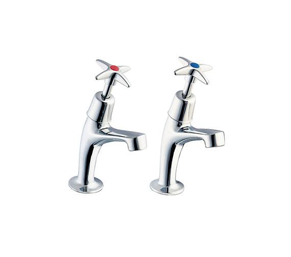 Deva Cross Handle Sink Taps - 183X