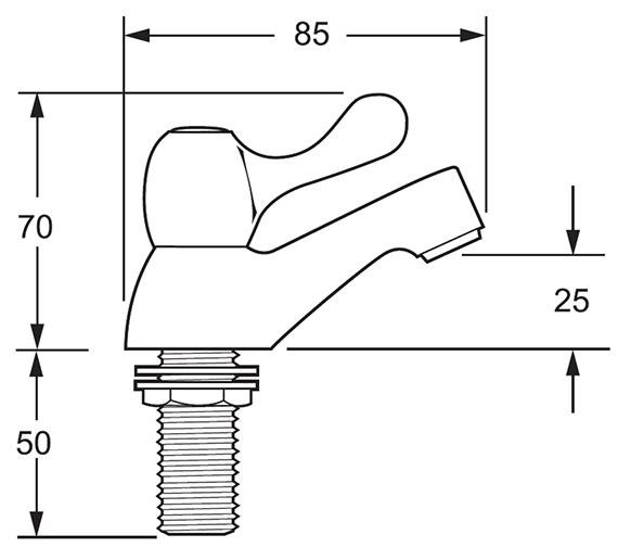 Technical drawing QS-V45260 / CNTL02