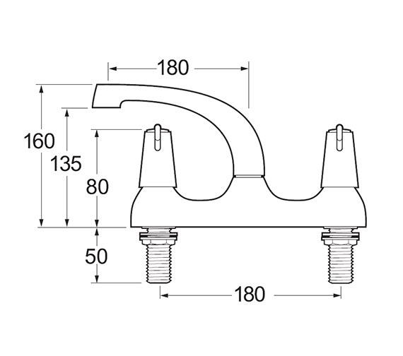 Technical drawing QS-V45278 / DLT105