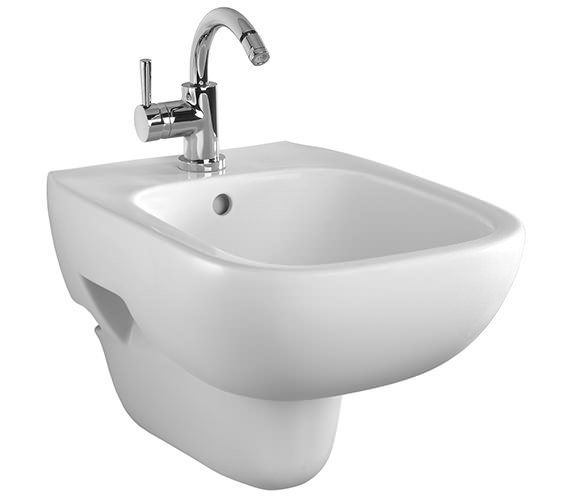 Twyford Moda Wall Hung Bidet 510mm - MD3411WH