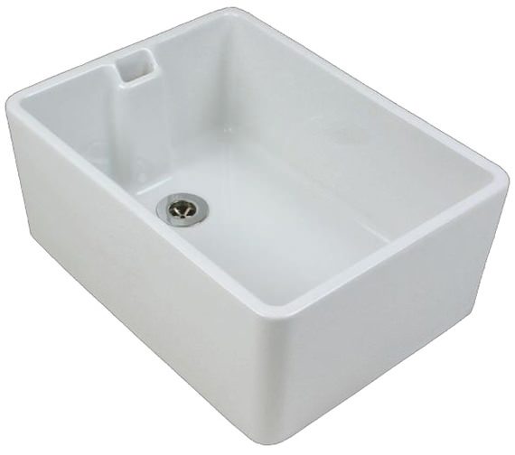 Twyford Belfast 760 x 455 x 255mm Kitchen Sink - FC1301WH