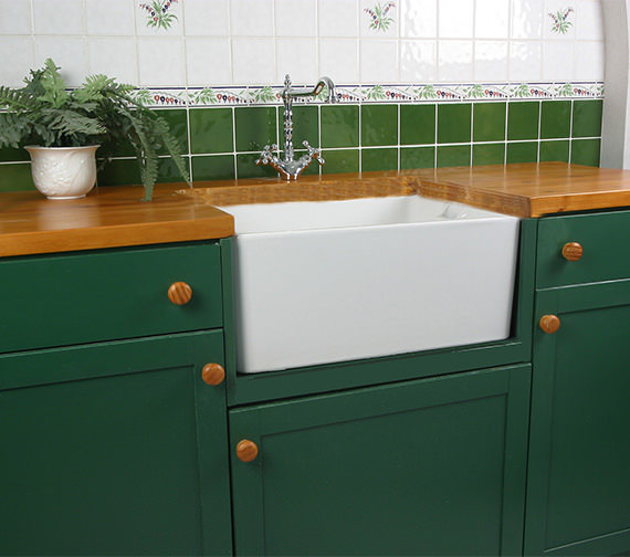 Additional image of Twyford Belfast Traditional Fireclay Sink Heavy Duty