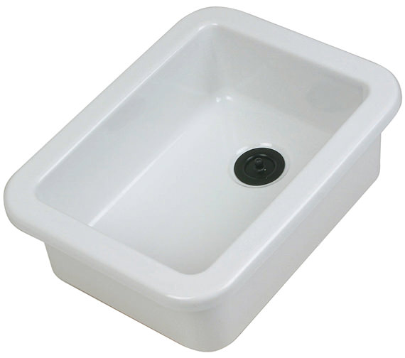 Twyford Laboratory Sink With Flanged Rim 420 x 315 x 160mm