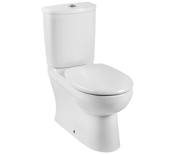 Twyford Galerie Close Coupled Back-To-Wall WC And Cistern 680mm