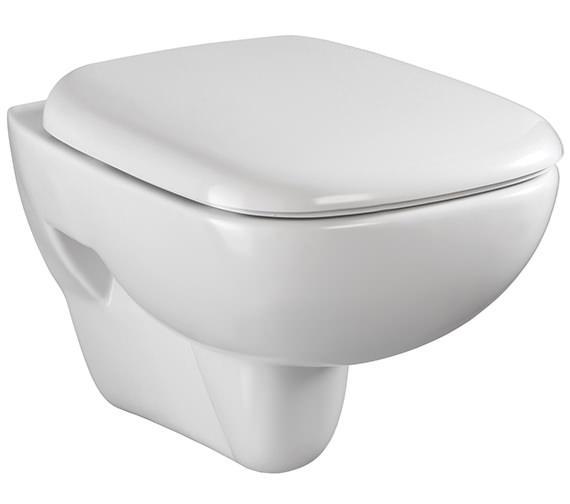 Twyford Moda Wall Hung WC Pan 510mm - MD1738WH