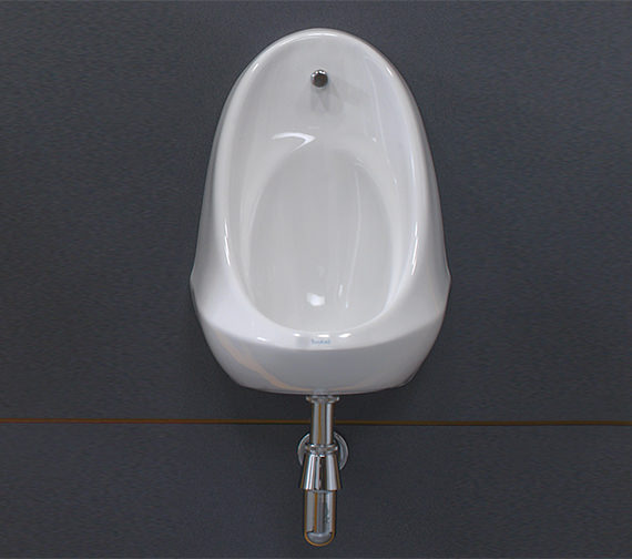 Additional image of Twyford Camden 1 Urinal Set With Concealed Flush Pipe And Cistern