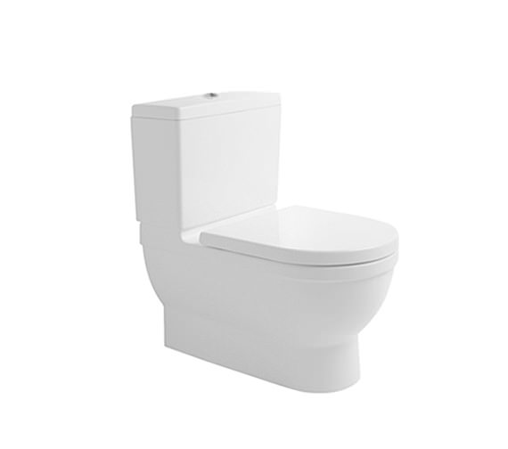 duravit starck 3 close coupled big toilet 735mm 2104090000. Black Bedroom Furniture Sets. Home Design Ideas