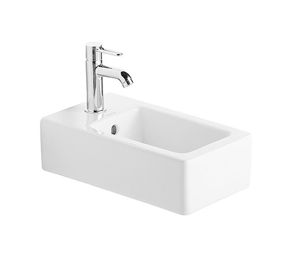 Duravit Vero White 250 x 450mm Handrinse Washbasin - 0702250000