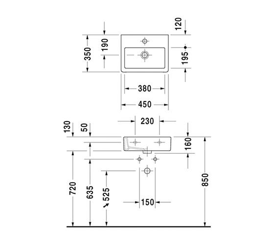 Technical drawing QS-V45476 / 0704450000