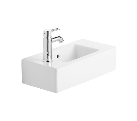 Duravit Vero White Alpin 500 x 250mm Handrinse Washbasin - 0703500000
