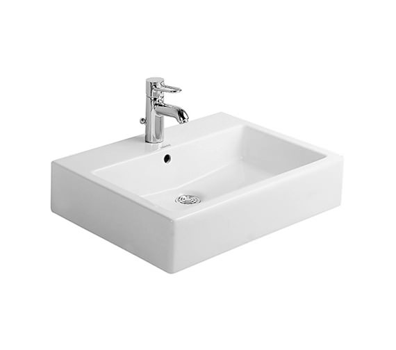 Duravit Vero White 500 x 470mm Grinded Counter Top Basin - 0452500000