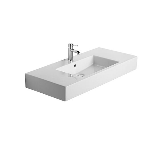 Duravit Vero 1050 x 490mm 1 Tap Hole Furniture Basin - 0329100000