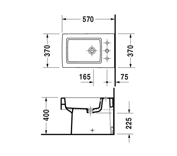 Technical drawing QS-V45496 / 2240100000