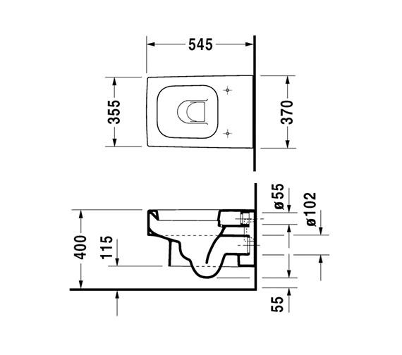 Technical drawing QS-V45497 / 2217090064