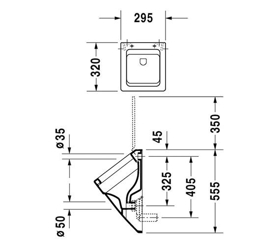 Technical drawing QS-V45501 / 2801320000