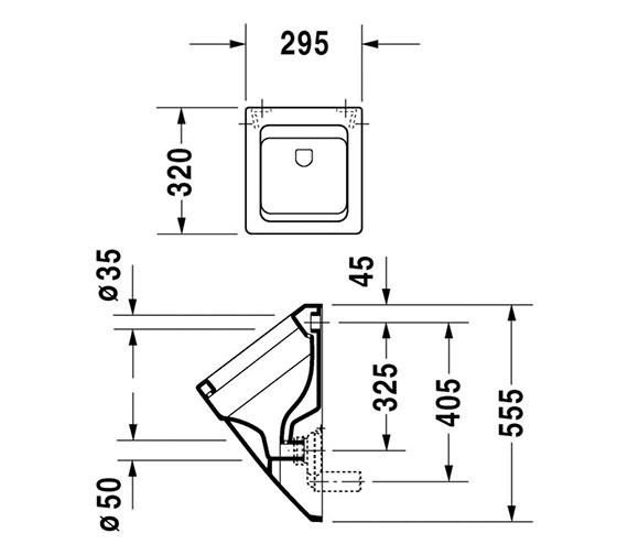 Technical drawing QS-V45502 / 2800320000