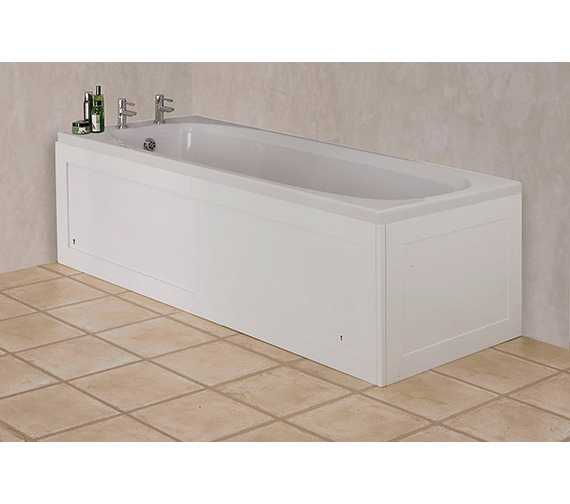 Croydex Unfold N Fit Bath Panel Gloss White - WB995122