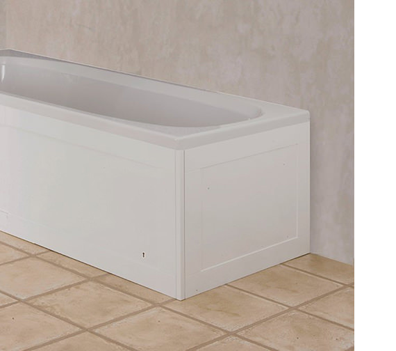 Croydex Unfold N Fit Bath End Panel Gloss White - WB995022
