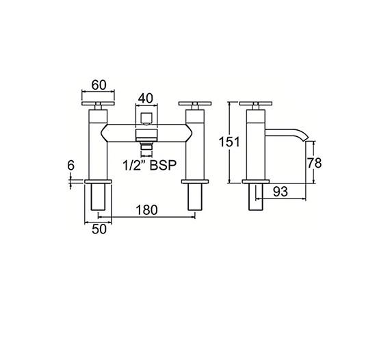 Technical drawing QS-V47014 / CRUX106