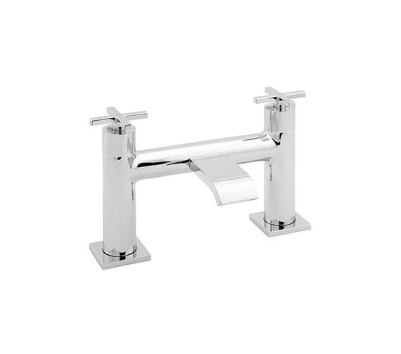 Deva Crux Deck Mounted Bath Filler Tap Chrome - CRUX108