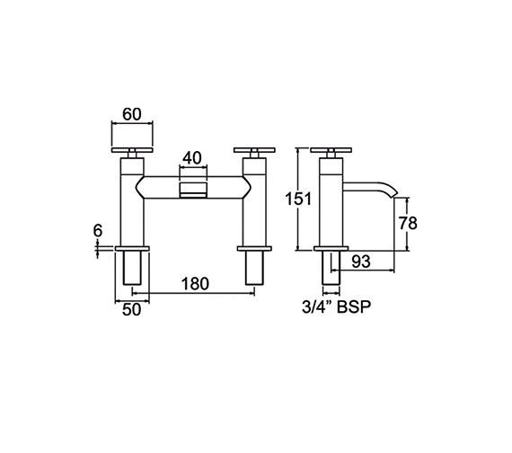 Technical drawing QS-V47015 / CRUX108