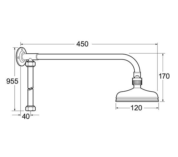 Technical drawing QS-V47147 / KITS08