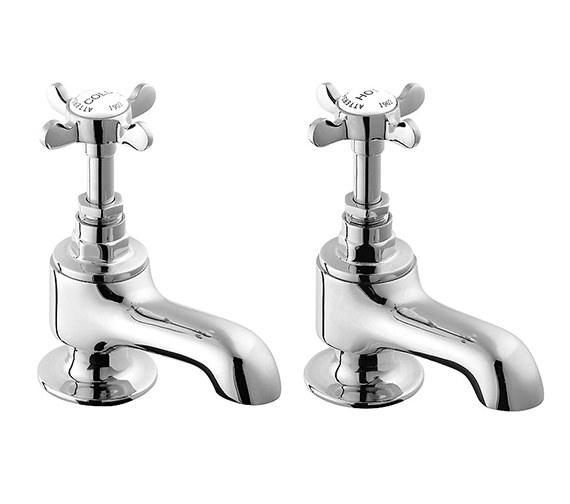 Deva Coronation Bath Taps Chrome - CR20