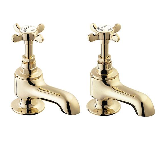 Deva Coronation Bath Taps Gold - CR20-501