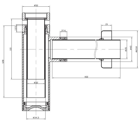 Technical drawing QS-V47193 / BTR0402C