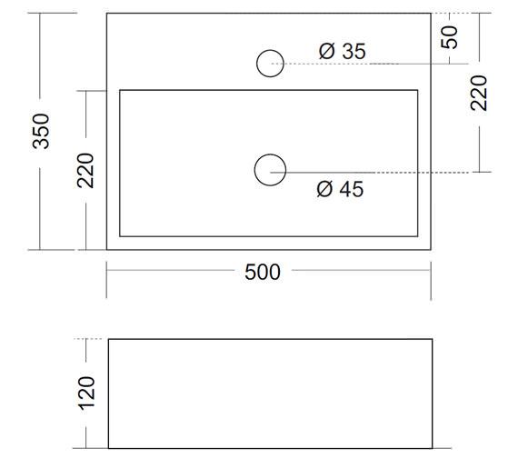 Technical drawing QS-V47198 / WM0017BSCW