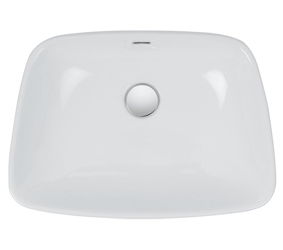 Additional image of Bauhaus Anabel 500mm Countertop Basin - CT0091SCW