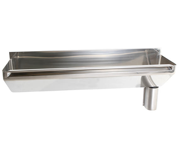 Twyford SS 1600 x 400mm 2 Person Stainless Steel Scrub-Up Trough