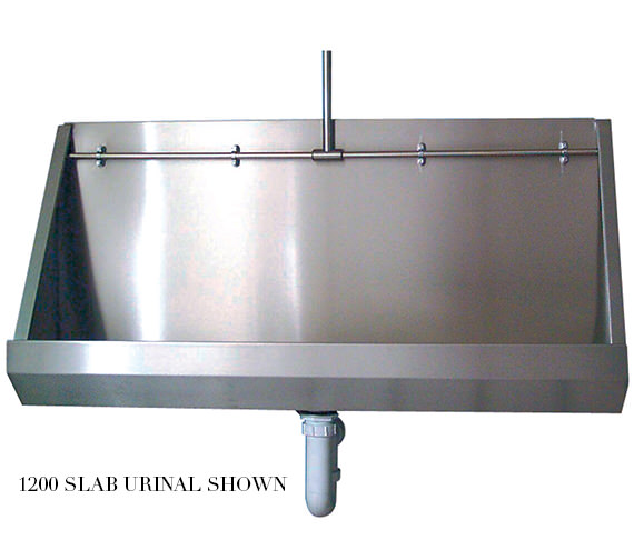 Twyford Stainless Steel 2400mm Wall Hung Urinal - PS8203SS