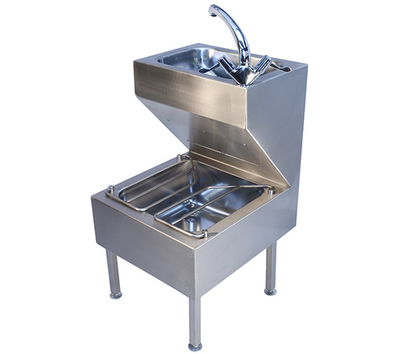 Twyford Stainless Steel 500 x 880mm Janitorial Unit - PS8801SS