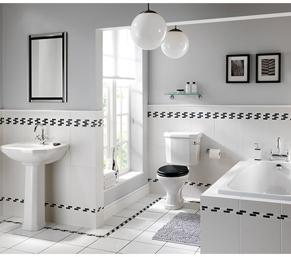 Twyford Clarice Bathroom Suite Ne9590wh