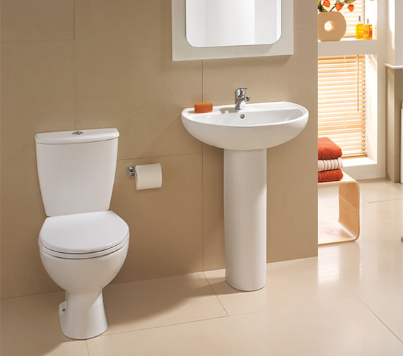 Twyford Alcona White Cloakroom Suite AR4311WH