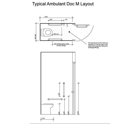 Technical drawing QS-V47323 / PK8148WH