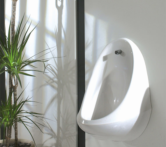 Additional image of Twyford Spectrum 3 Urinal Set With Concealed FlushPipe And Cistern