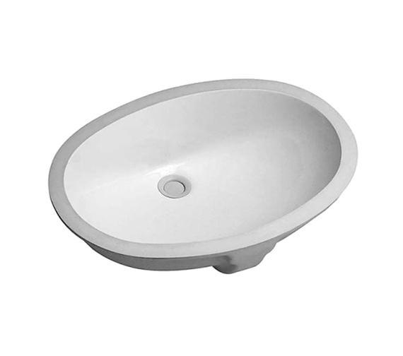 Duravit Santosa Undercounter Vanity Basin 510 x 425mm White - 046651